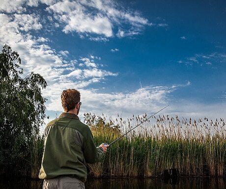 Fishing holiday at Strandsegård